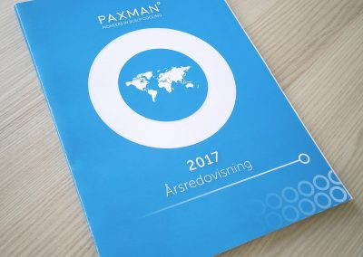 PAXMAN Annual Report 2017