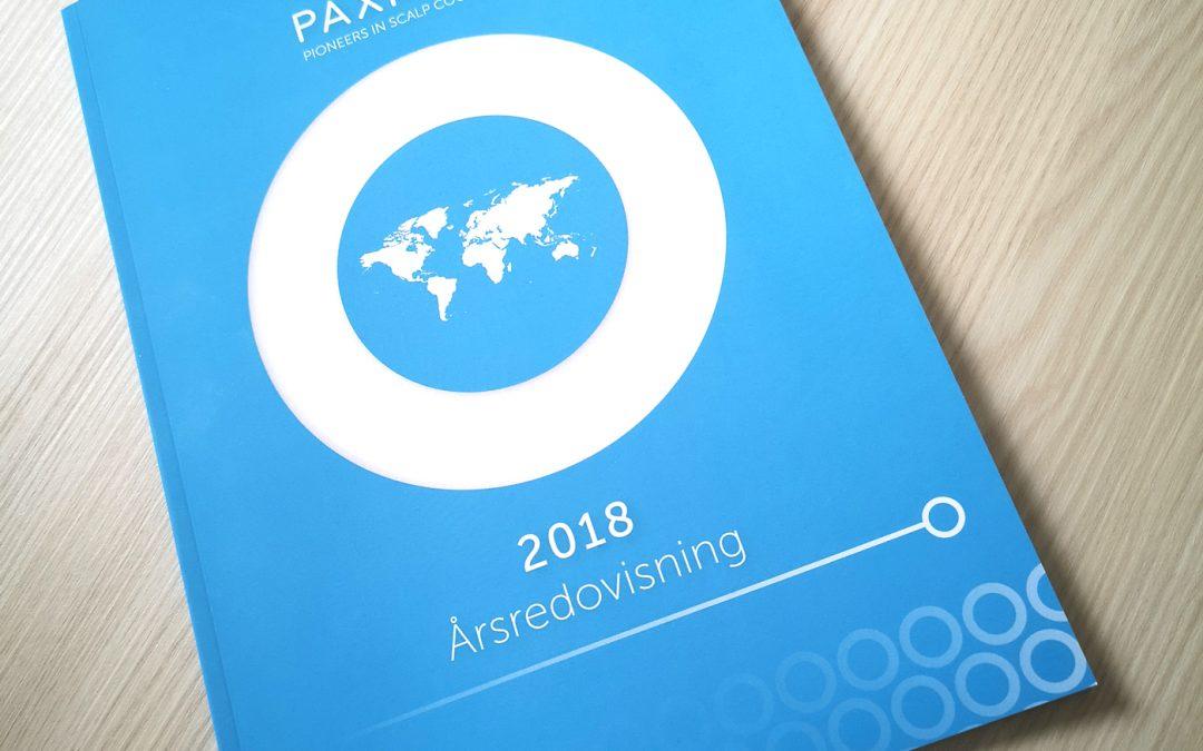 PAXMAN årsredovisning för 2018