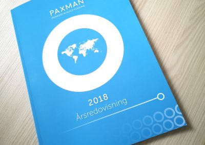 PAXMAN Annual Report 2018