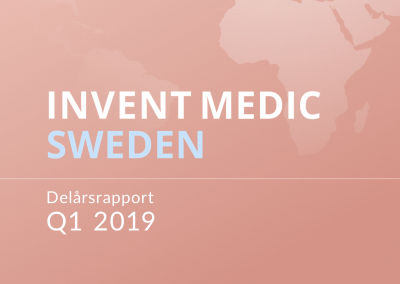 Invent Medic Interim Report Q1 2019