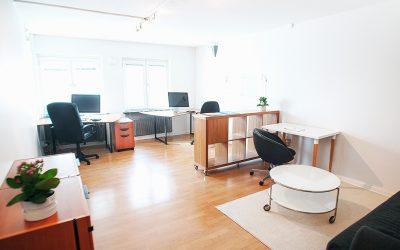 Två fina kontorsplatser i centrala Göteborg uthyres